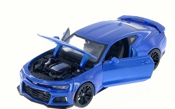 2017 Camaro ZL1 Blue 1/24 Maisto Collector Car