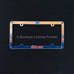 Charlotte Bobcats Full Color Plastic License Plate Frame