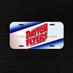Dayton Flyers Plastic License Plate