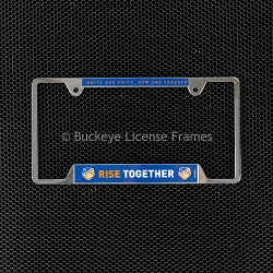 FC Cincinnati Chrome License Plate Frame-Metal