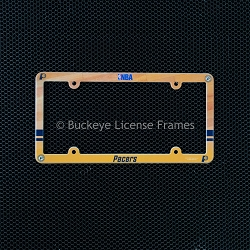 Indiana Pacers Full Color Plastic License Plate Frame