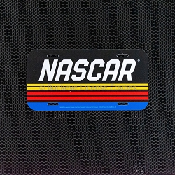 NASCAR Plastic License Plate