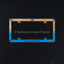 New Orleans Hornets Full Color Plastic License Plate Frames