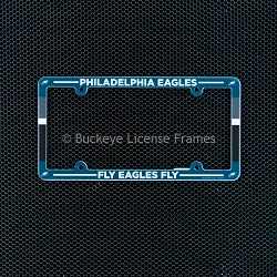 Philadelphia Eagles Full Color Plastic License Plate Frame