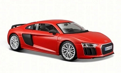 Audi R8 V 10 Plus Red 1/24 Maisto Collector Car