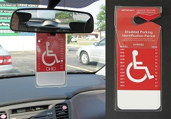 Handicap - Disability Placard Cover - Set of 2
